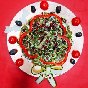 Christmas ball di zucchine