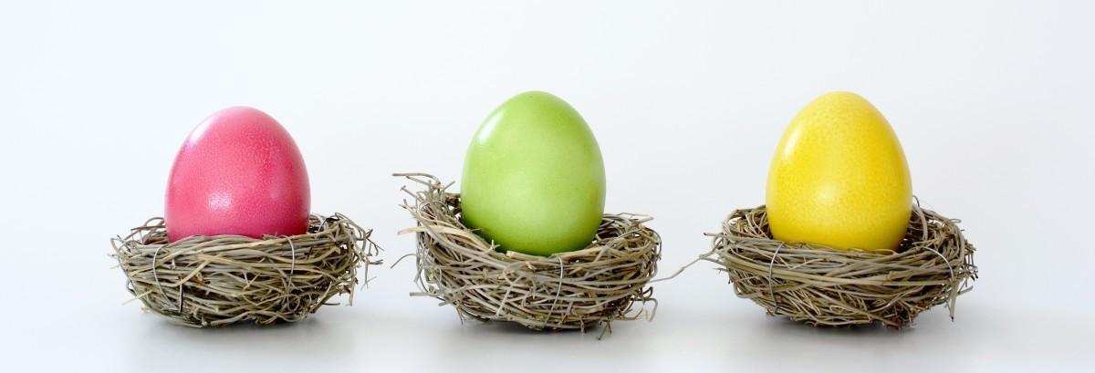 Come fare le uova di Pasqua colorate